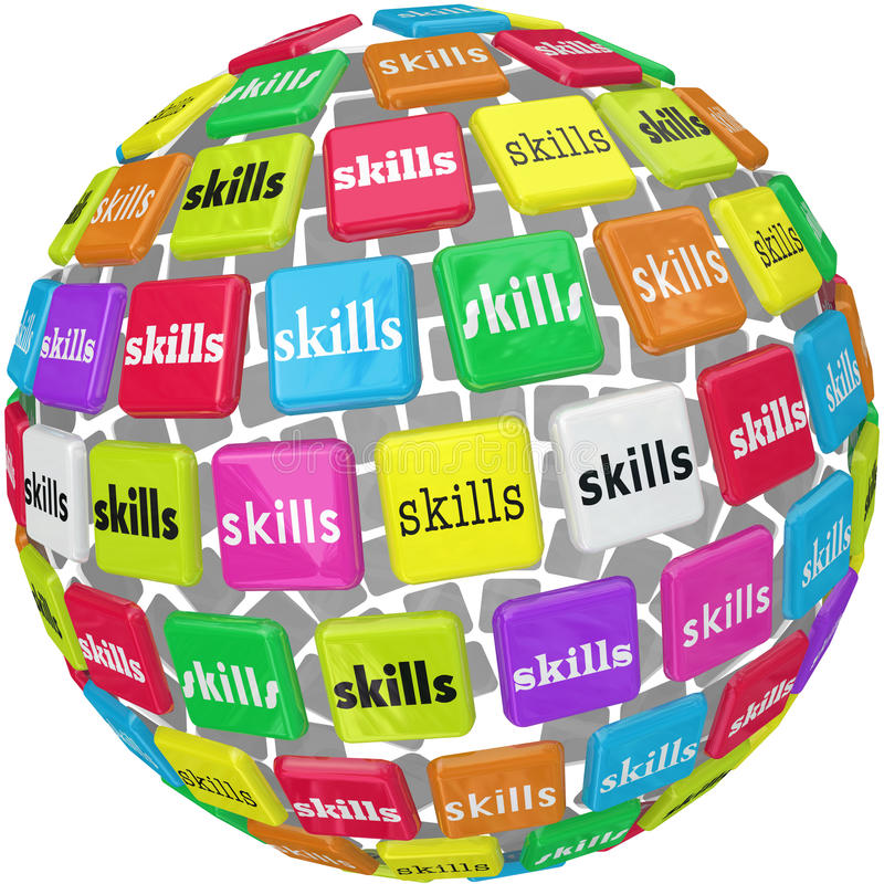 Skills Word on Sphere Ball Required Experience Job Career