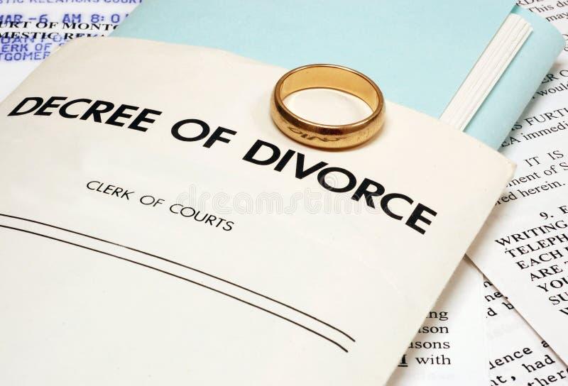 skilsmässa arkivfoto