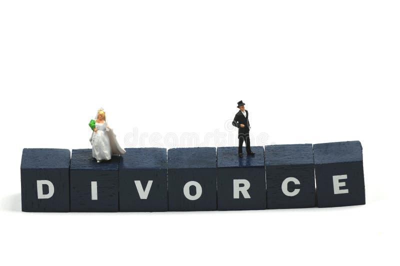 skilsmässa royaltyfri foto