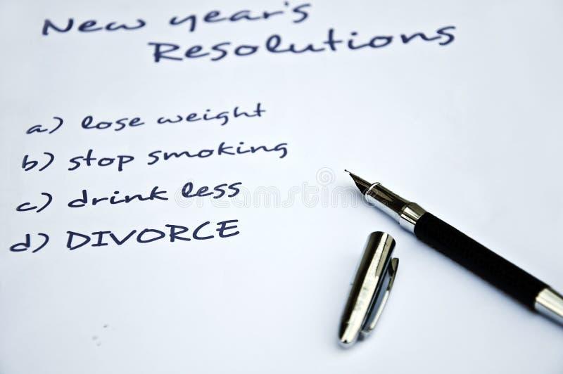 skilsmässaupplösning arkivfoton