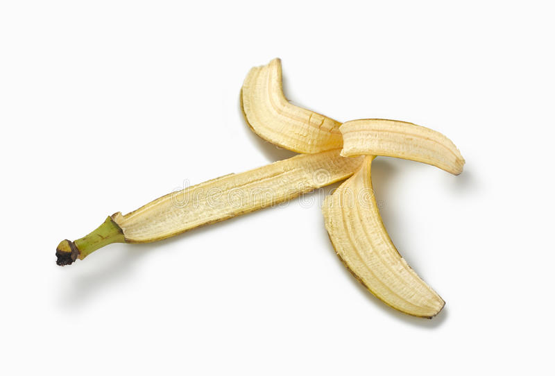 Download Skin Banana On White Background Stock Photo - Image: 25980146