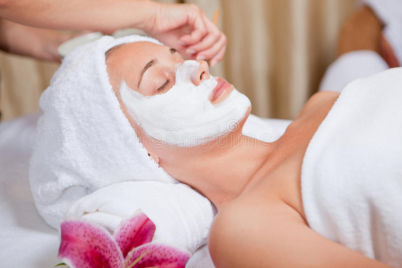 Skin care stock photography