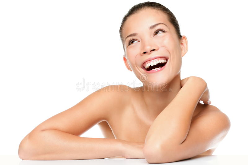 Skin care beauty woman royalty free stock image
