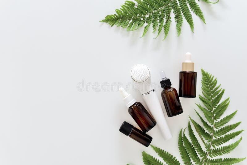 Skin care everyday routine spa set stock photo