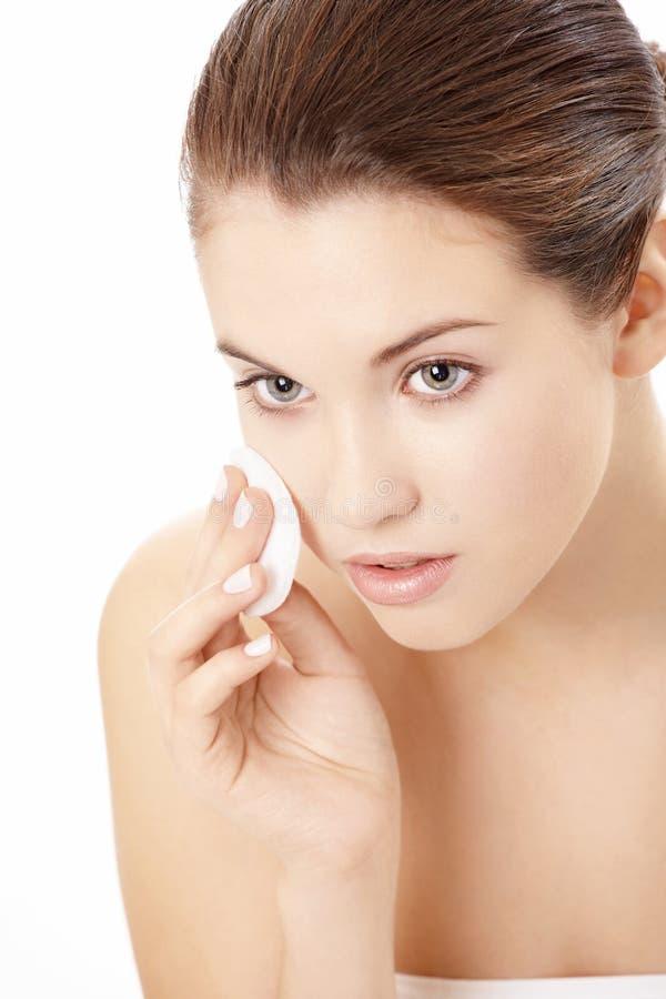 Skin clarification stock photos