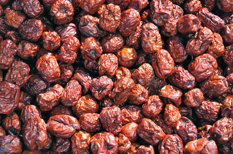 Download Skin Dark Red Chinese Dates Stock Image - Image: 12981811