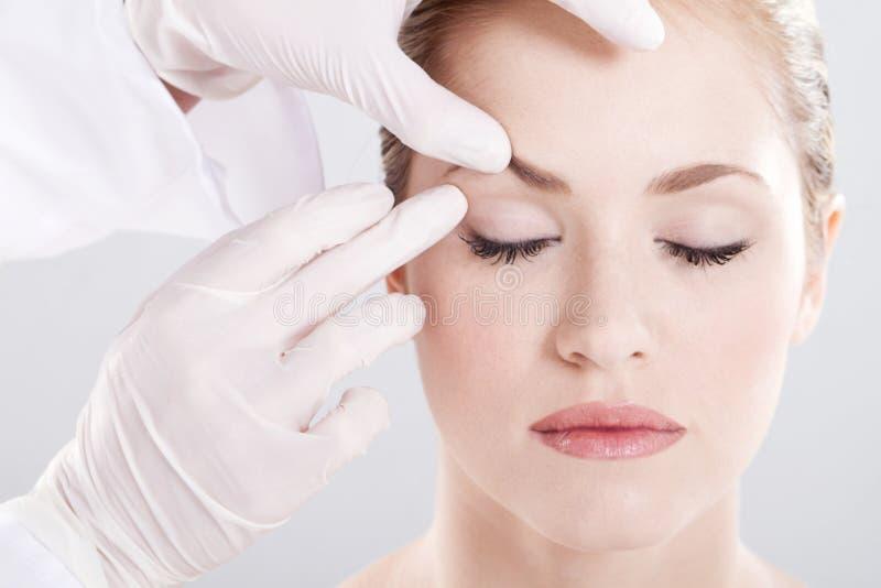 Skin Examination Stock Image