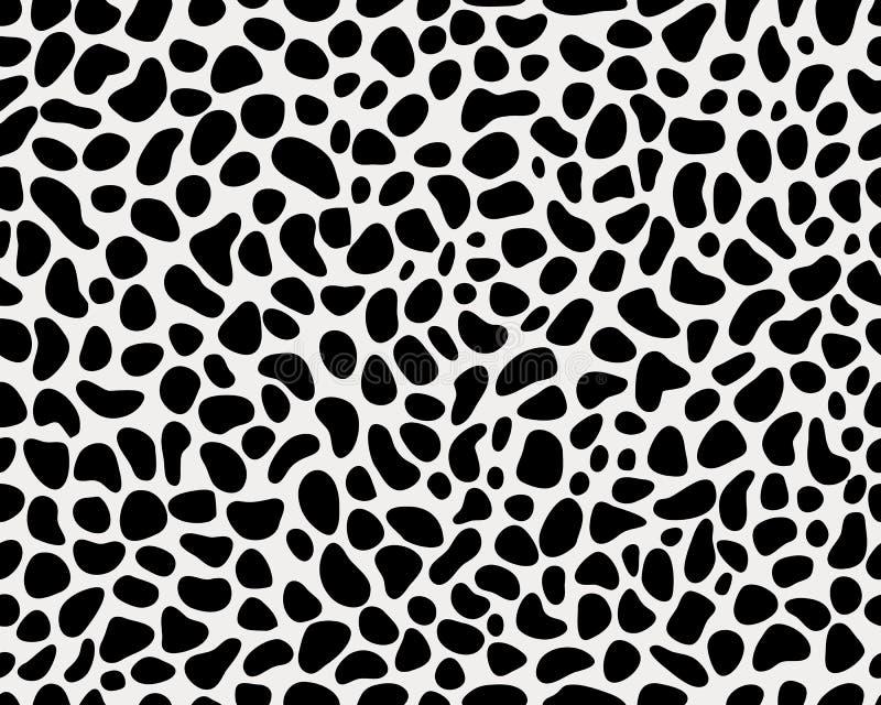 Skin of leopard stock illustration