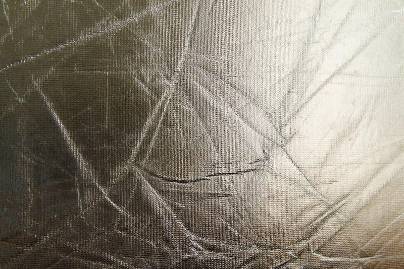 Skinande bakgrund för metallsilvertextur metallisk modell royaltyfria foton