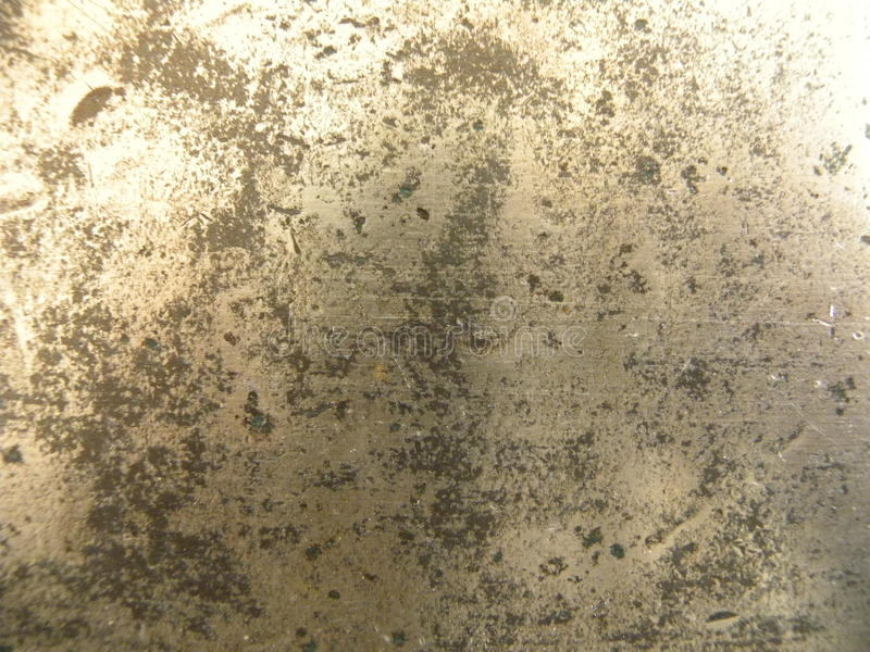 Skinande rostig metalltextur fotografering för bildbyråer