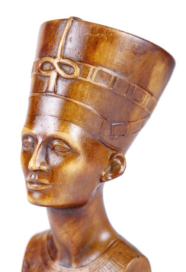 Skinande staty av farao royaltyfria foton