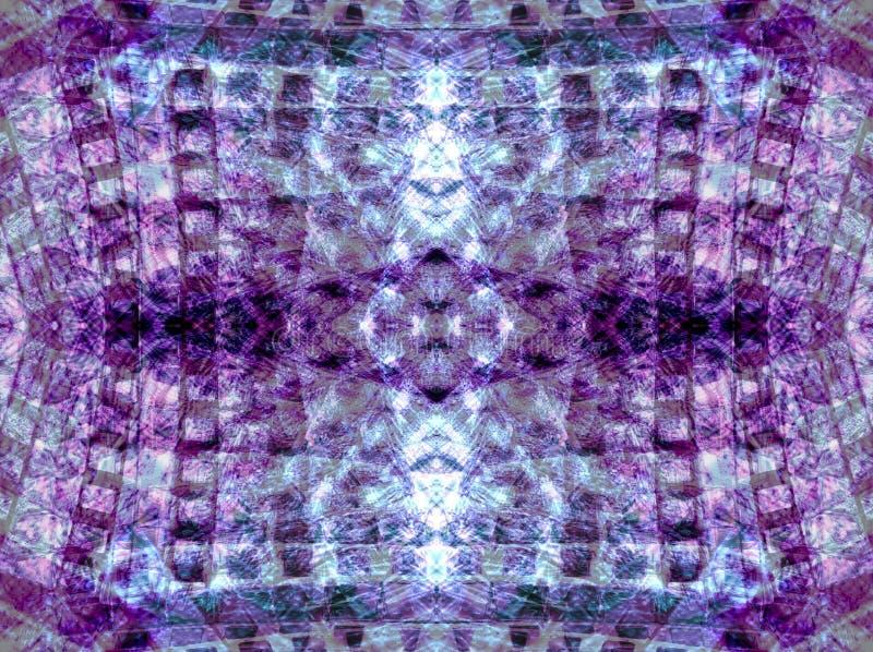 skinande violet 2 royaltyfri illustrationer