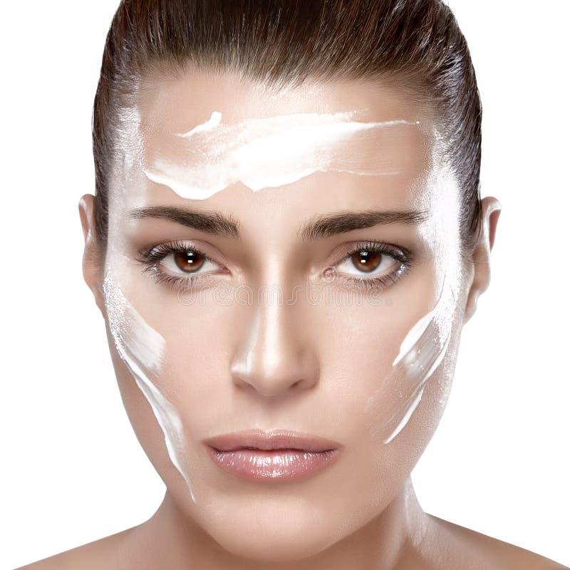 Skincare概念 免版税库存照片