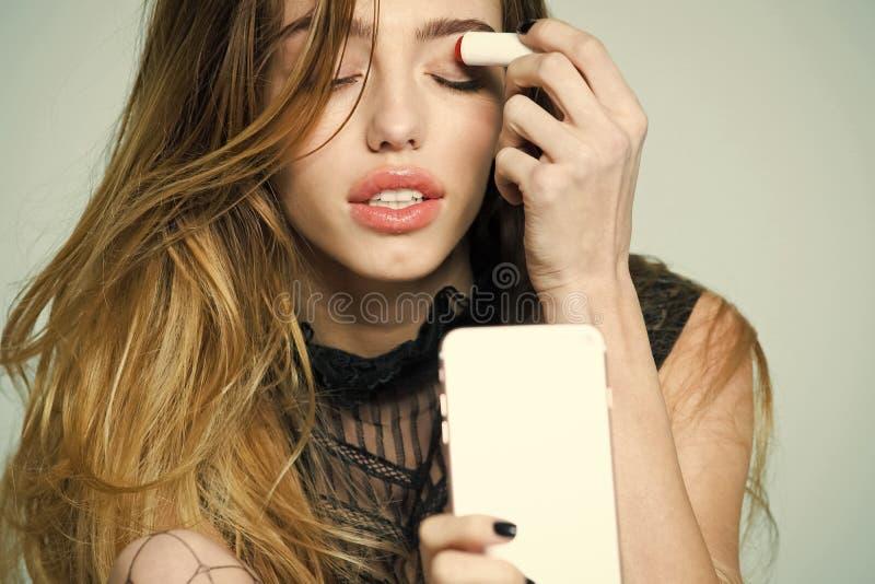 Skincare και visage στοκ φωτογραφία
