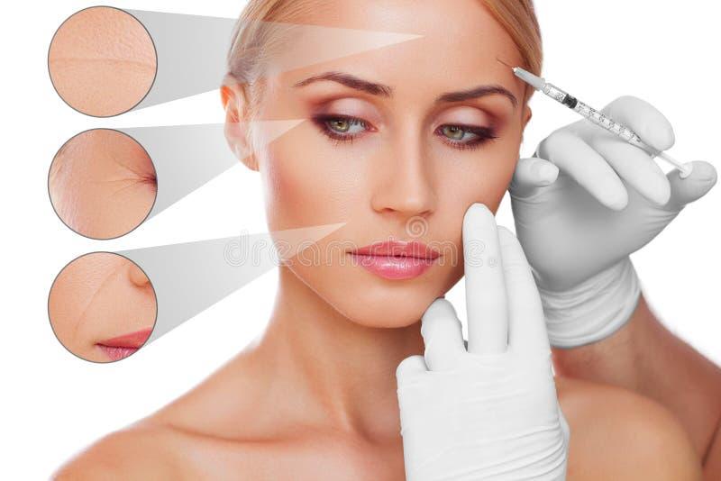 Skincare принципиальной схемы стоковое фото