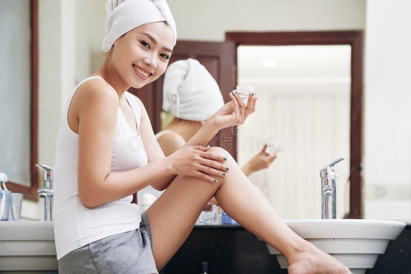 Skincare royalty-vrije stock afbeelding