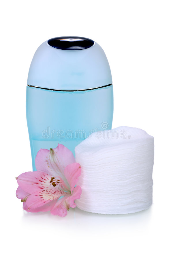 Download Skincare stock photo. Image of cotton, cleaner, liquid - 1727508