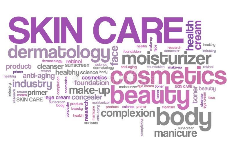 Skincare royalty illustrazione gratis