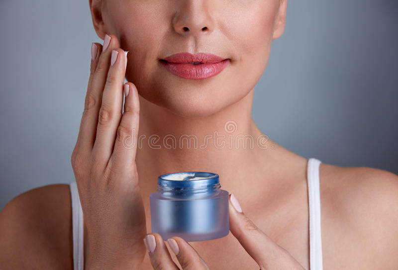 Skincare στοκ φωτογραφίες με δικαίωμα ελεύθερης χρήσης