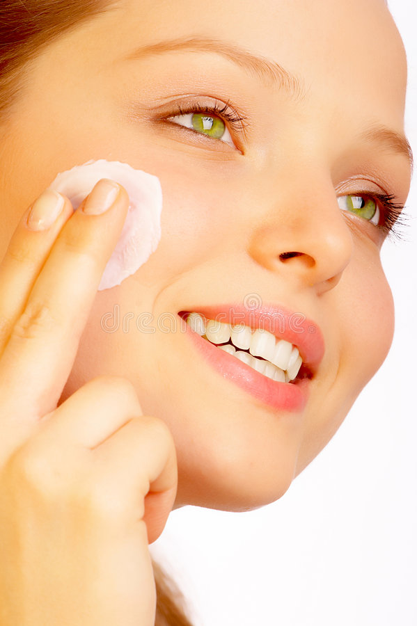 Skincare doux. photos stock