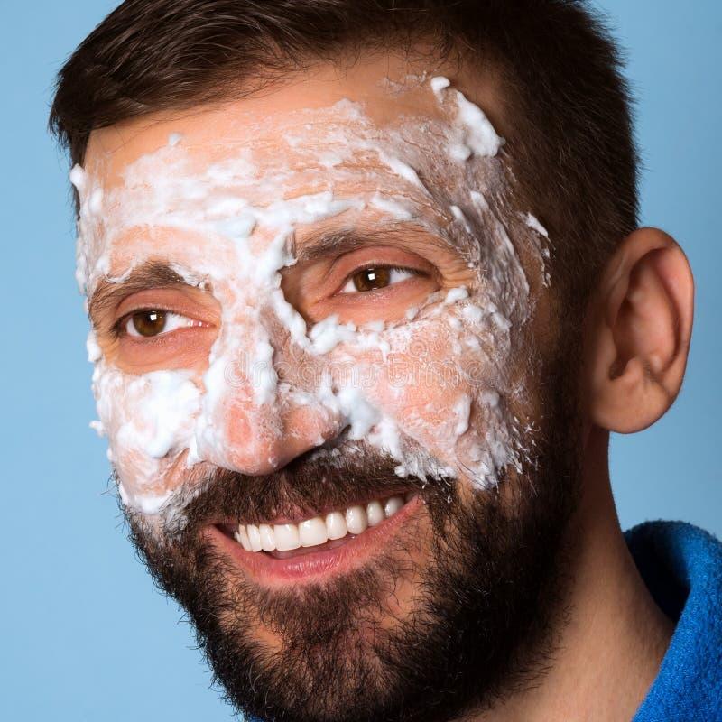 Skincare per gli uomini immagini stock libere da diritti