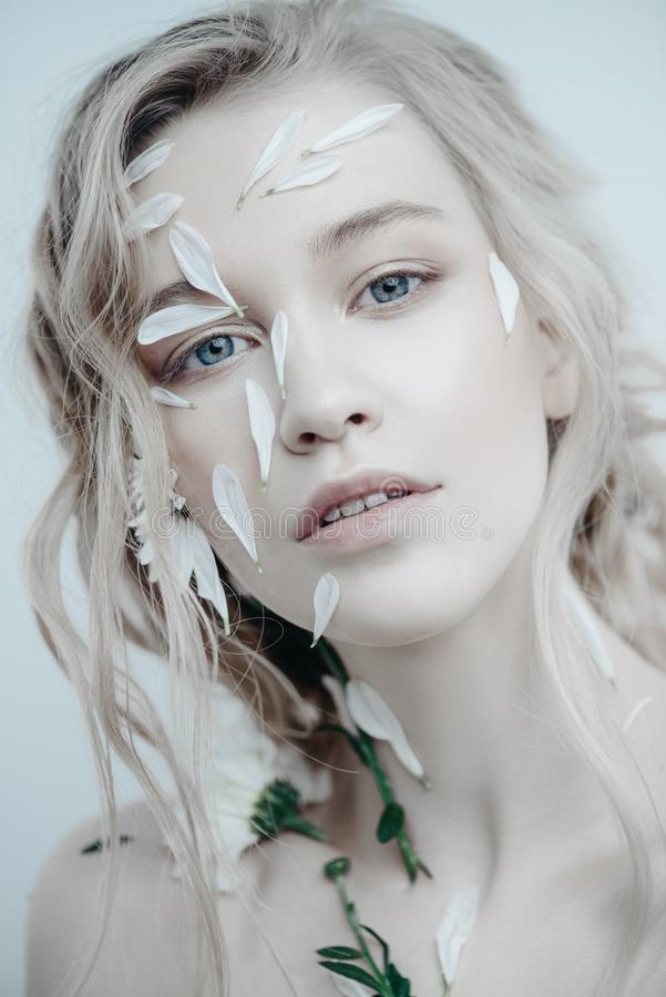 Skincare voor gezicht en lichaam royalty-vrije stock afbeeldingen