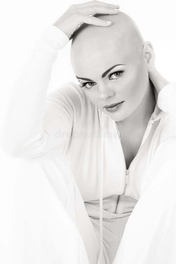 Skinheada piękno zdjęcie royalty free