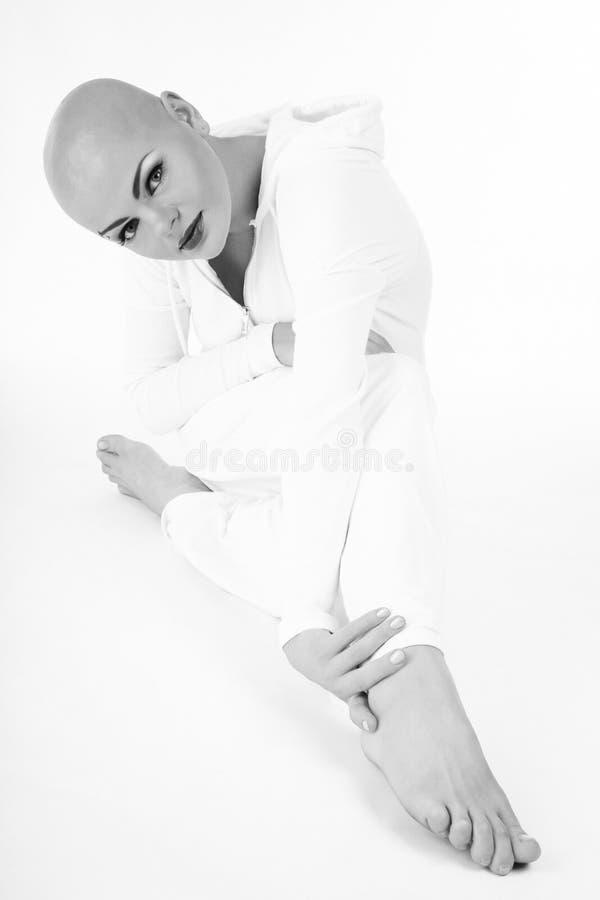Skinheada piękno obraz stock