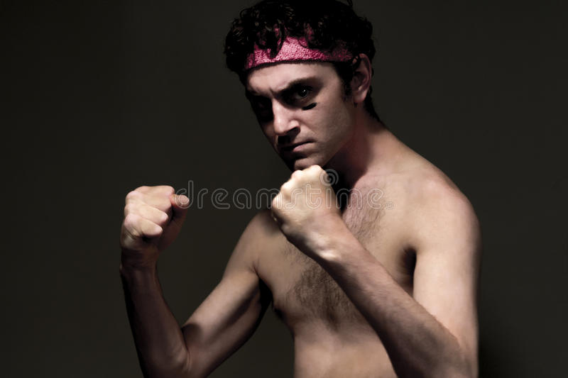 Skinny Fighter stock photos