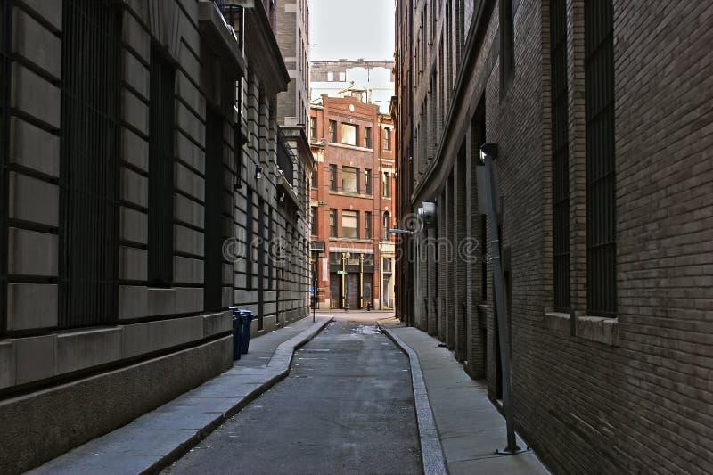 Download Skinny street stock image. Image of boston, brick, skinny - 8322627