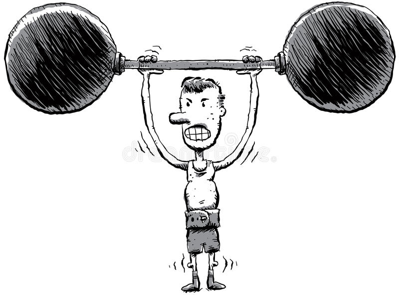 Download Skinny Strongman Stock Photography - Image: 22431792