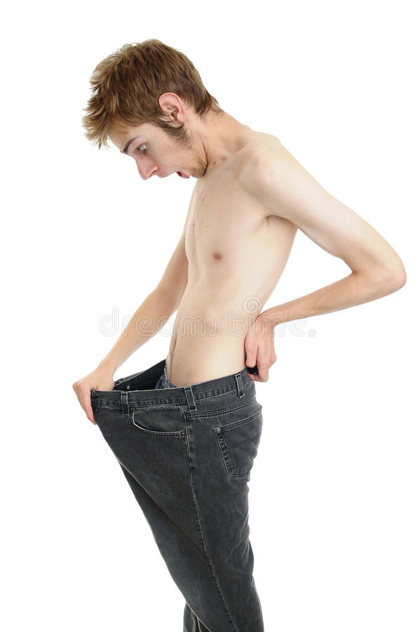 Skinny Weight Loss royalty free stock image