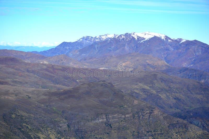 Skiort in Santiago-Paprika lizenzfreies stockbild
