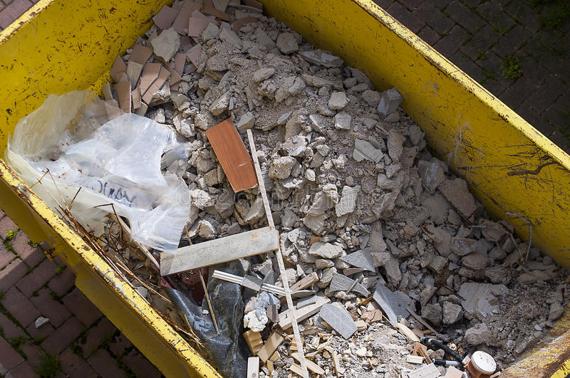 Download Waste rubble stock image. Image of bricks, demolition - 30296717
