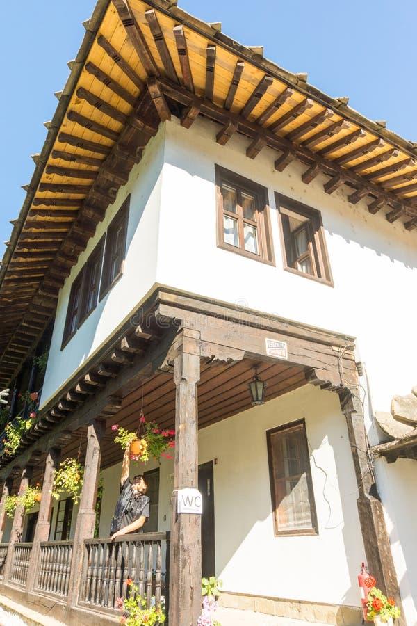 Skip to kelyam Troyan Monastery, Bulgaria stock photos