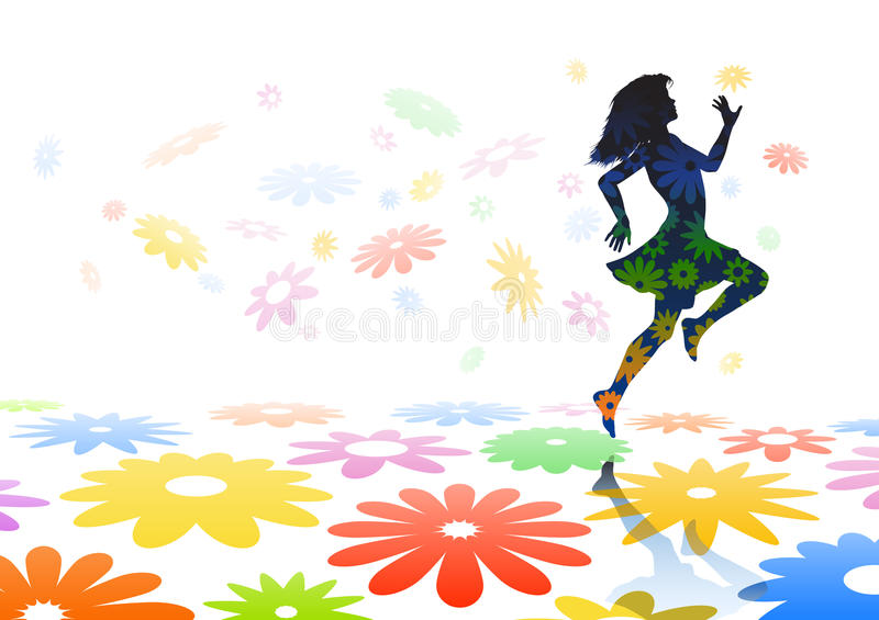 Download Skipping Girl Stock Images - Image: 18647854