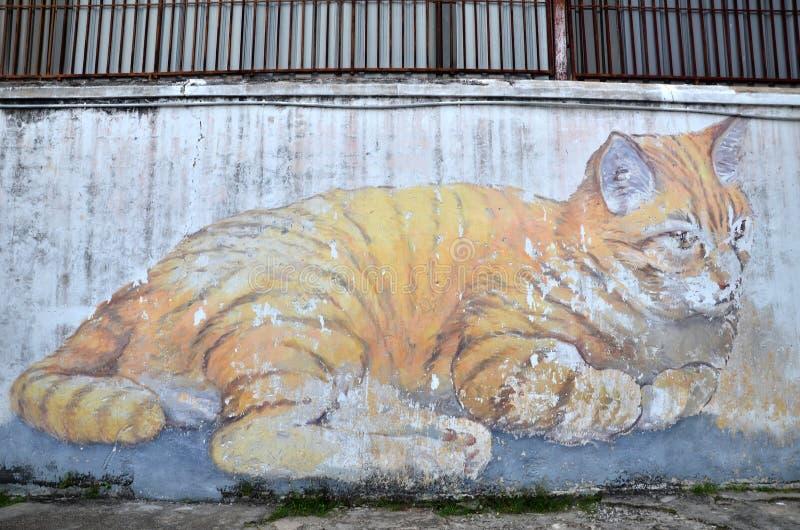Skippy, het Reuzeart. van de Kattenstraat royalty-vrije stock foto