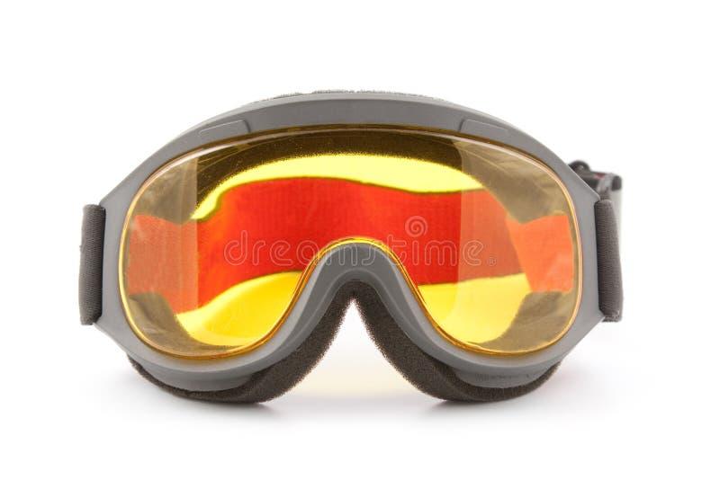 Skischutzbrillen lizenzfreies stockbild