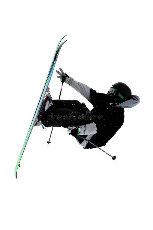 Skisprung lizenzfreie stockfotos