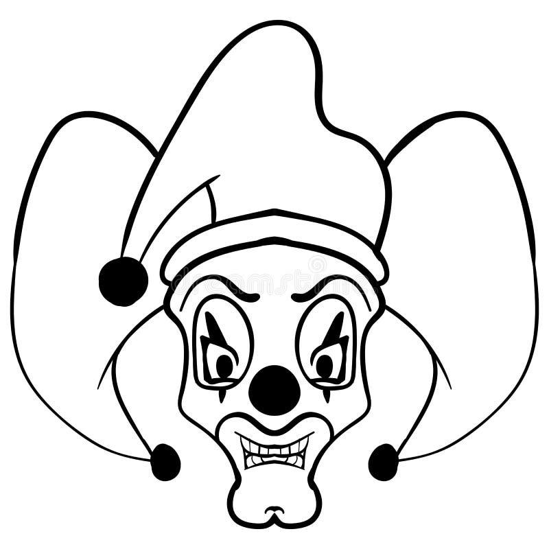 Skissa tecknade filmen för attraktiongyckelmakareframsidan vektor illustrationer