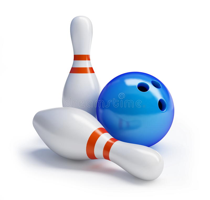 Download Skittles And Bowling Ball Royalty Free Stock Photography - Image: 18501697