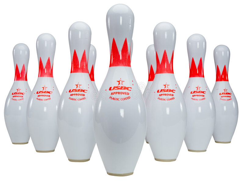 Skittles de bowling photos stock