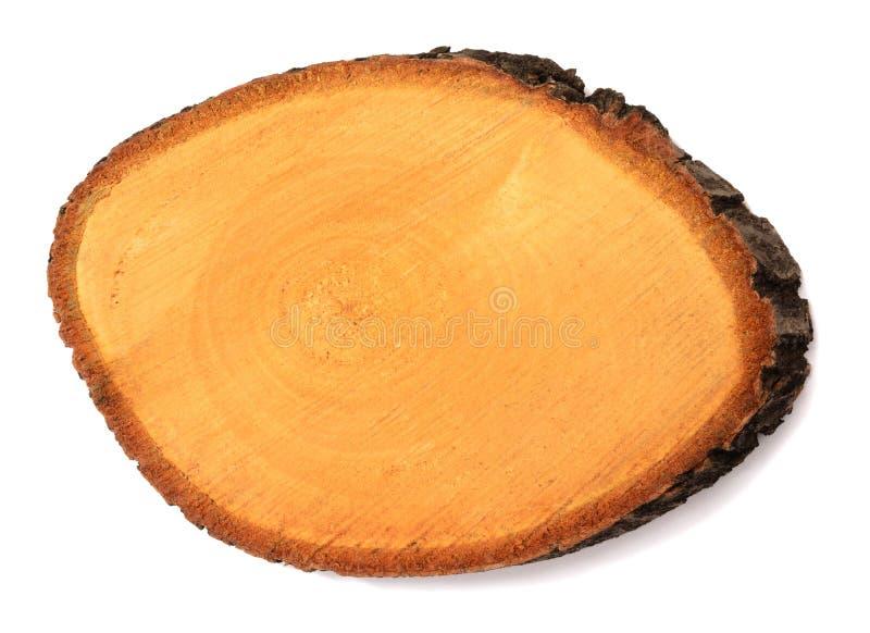 Skiva av trä royaltyfria bilder