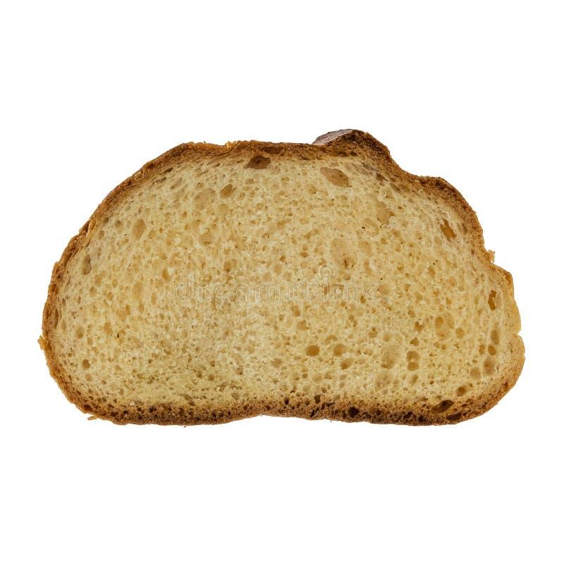 Skivad   smörgåsbröd isolerat på vit bakgrund royaltyfri fotografi