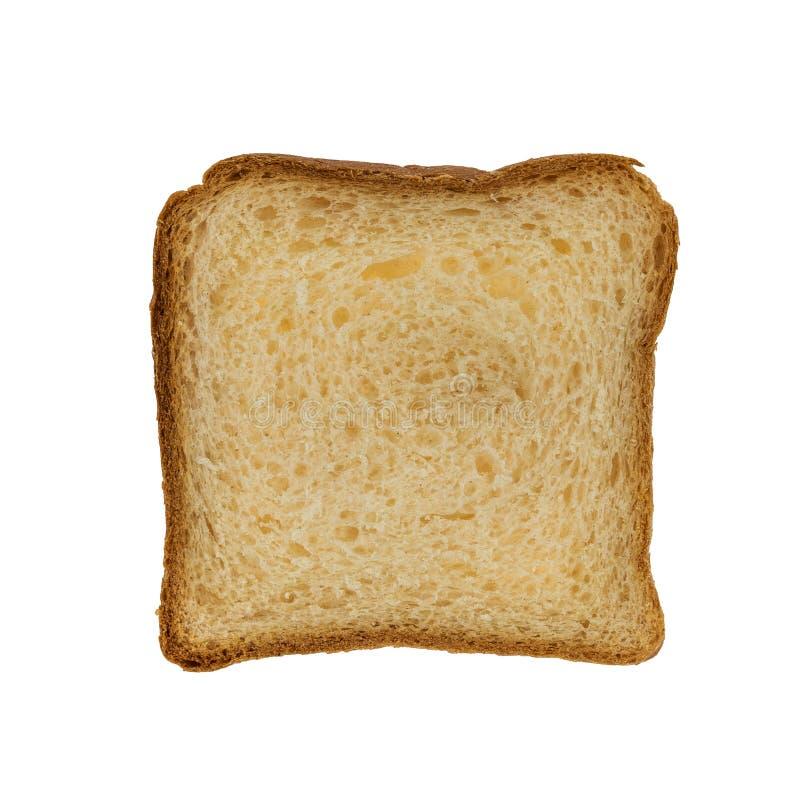 Skivad   smörgåsbröd isolerat på vit bakgrund arkivfoto