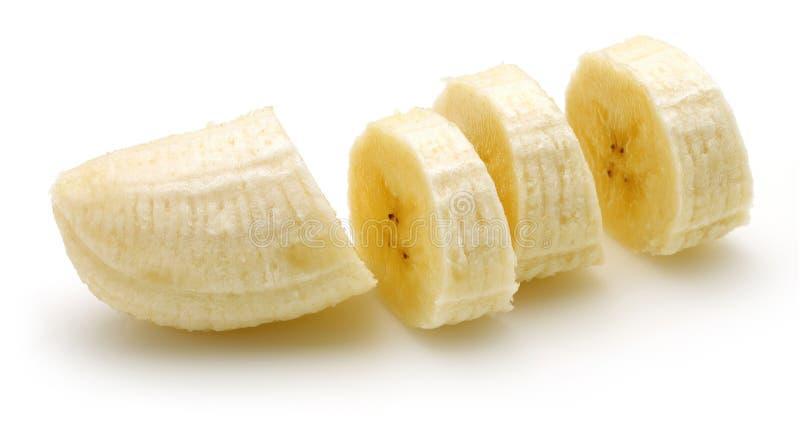 skivad banan arkivbild