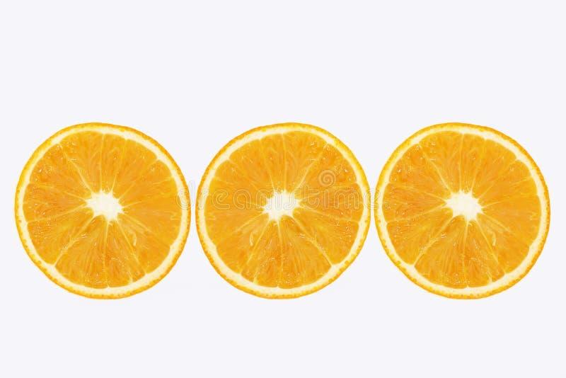 skivad citron arkivbild