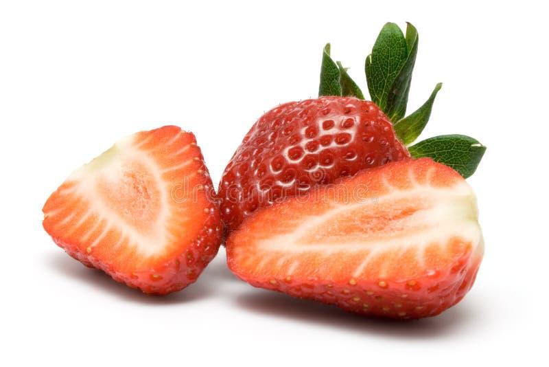 skivar jordgubben fotografering för bildbyråer