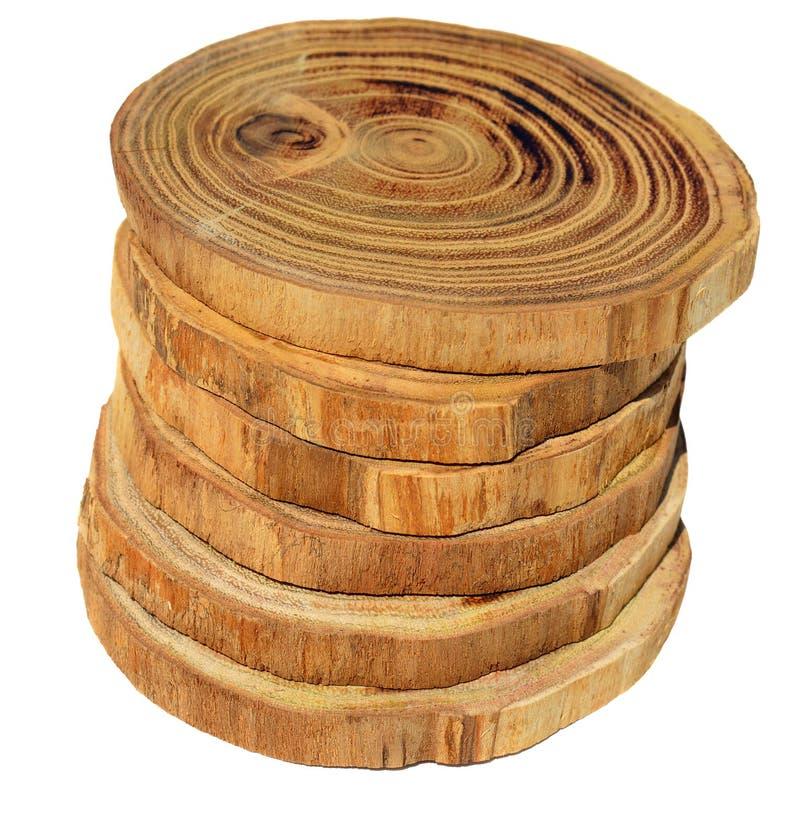 skivar trä arkivfoto