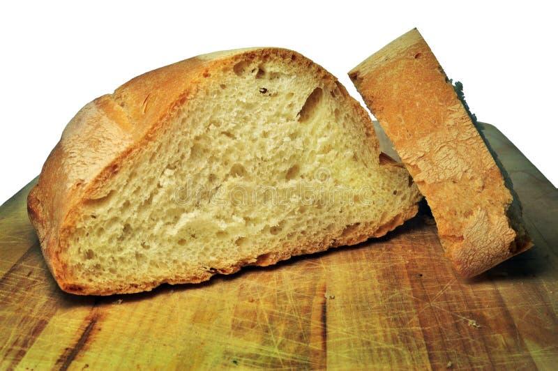 Skivat hemlagat bröd royaltyfri foto